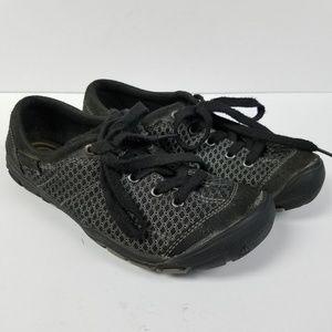 Keen Black Silver Sport Walking Hiking Shoes